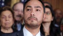 Joaquin Castro is an American Democratic politician who has served in the United States House of Representatives for Texas' 20th congressional district since 2013. Photo: Getty.