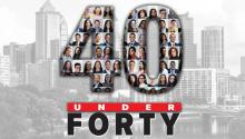 AL DÍA's inaugural 40 Under Forty is five years in the making. Graphic: AL DÍA News.