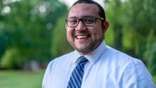 A son of working-class immigrants, Ricky Hurtado grew up in rural North Carolina and is a product of public schools. Courtesy Ricky Hurtado