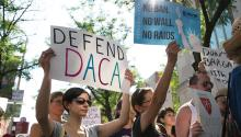 Since 2017, DACA recipients have remained in limbo. Photo: AL DÍA News