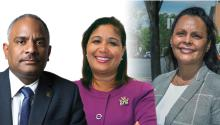 State Rep. Danilo Burgos, Philadelphia Councilwoman María Quiñones-Sánchez and Lancaster City Councilwoman Janet Díaz are all on Biden's Latino Leadership Council for Pennsylvania along with a number of other Latinx leaders from across the state. Photos: AL DÍA News.