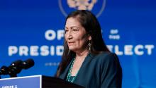 Rep. Deb Haaland's confirmation hearings to become Secretary of the Interior are set to begin this week. Photo: Getty Images