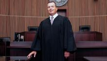 Judge L. Felipe Restrepo first came to the U.S with his family in 1962 from Colombia. Photo: AL DÍA News.