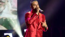 Colombian singer Maluma in one of his concerts. Photo: Getty Images