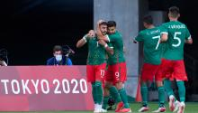 Mexico defeats France in Tokyo 2020. Getty Images
