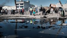 Haiti, the poorest country in the Western Hemisphere, suffers the impact of the earthquake that hit the south of the country last Saturday, causing more than 1,300 deaths and damage to its already deteriorated infrastructure. Getty Images
