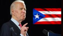 Puerto Rico has been at the forefront of Joe Biden's Latino outreach strategy. Photo: EFE