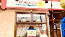 Cesar Gonzales and his family came from Manila to Philadelphia 31 years ago for a fresh start. Photo: Kusina Philly.