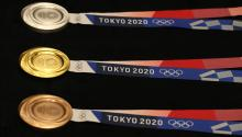 Tokyo medals are made with electronic waste