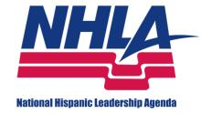 The National Hispanic Leadership Agenda is a coalition of 40 Latino organizations.