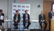 La Agenda Nacional de Liderazgo Hispano (NHLA), es una coalición de 40 organizaciones latinas.