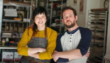 Carol Ha and Bill Kelly have made a name for themselves in the Philly food scene. Photo: Okie Dokie DonutsCredit: Neil Santos.