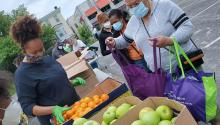 The AHA has helped provide over twenty thousand healthy meals to families in North and West Philadelphia.   Philabundance
