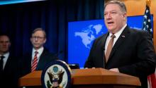 Mike Pompeo, the U.S. official, brandishing the dollar as a weapon, threatened the Pan-American Health Organization (PAHO), with canceling its economic support. USA Today