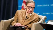 Civil rights, healthcare, and suppression. Justice Ginsburg's death has altered it all. Photo: Getty Images