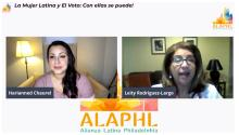 Alianza Latina Philadelphia hosted a virtual panel to mobilize Latinx voters to mobilize before November 3.