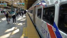 SEPTA's ridership numbers are only back to 30% of what they were pre-coronavirus. Photo: Getty Images.