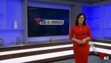 La presentadora y periodista Iris Delgado es la conductora del programa Al Momento de Telemundo62. Foto: Twitter: @Telemundo62