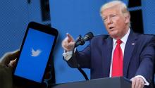 President Donald Trump unleashed his anger at the Twitter platform after it contradicted information published in his tweets. © France 24
