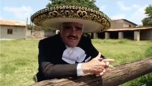 The 'King of ranchera music', Vicente Fernández. Photo: EFE