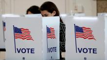 If you are not registered to vote, you should do so right away to exercise your right to help choose the next president. Gettyimages