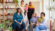 Wild Hand in Mt. Airy is helping Philadelphians cope with COVID trauma through knitting. Photo courtesy of: Wild Hand.