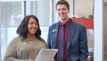 Talk to a WSFS Bank Associate to learn more about using credit and achieving your financial goals. Courtesy of WSFS Bank