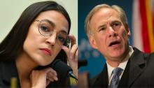 "Rep. AOC also went on to dissect how, specifically in Texas, the mass power outages are ""literally"" what happens when a Green New Deal isn't pursued. Photo: Getty Images/Miguel Gutierrez via Dallas News"