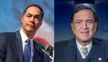 Julián Castro with former New Mexico Governor Bill Richardson - Getty Images