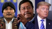 New information reveals how active former President Trump's DOJ was involved in affecting the power of MAS in Bolivia's government. Photo: Getty Images.