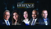 AL DÍA's virtual Hispanic Heritage Awards took place on the night of Oct. 7, 2020. Graphic: AL DÍA News