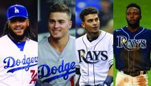 Kenley Jansen, Kiké Hernandez, Willy Adames, Randy Arozarena, are just four Latinos heading to the World Series. Photo: Wikipedia, Facebook, ESPN.