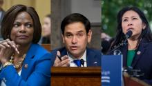 Reps. Val Demings and Stephanie Murphy are prepared to challenge on Sen. Marco Rubio for his seat in 2022. Photo: Getty Images.