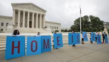 DHS will begin accepting new DACA applications following a court order. Photo: AP/Manuel Balce Ceneta