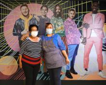 Alma Romero y su marido Marcos abrieron su restaurante en junio de 2020, a pesar de la pandemia de COVID-19. Foto: Facebook-Alma Del Mar.
