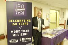 El presidente de Einstein Healthcare Network, Barry R. Freedman, en uno de los actos de celebración del 150 aniversario. (Facebook Einstein Healthcare Network).