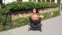 Photo provided on Mar. 27, 2017 showing Alejandrina Guzman, at the University of Texas at Austin, United States. EFE/Alex Segura
