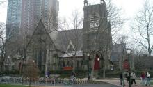 Saint Mary's Church, Hamilton Village, Philadelphia. Photo: COMMONS Wikimedia