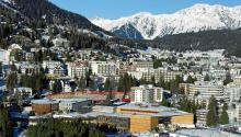 El ForoEconómico Mundial de Davos, en Suiza, tenrá lugar entre el 23 y el 26 de enero. El forofue muy criticado por Trump durante la campaña electoral, por considerarlo un símbolo del establishment que representa el partido Demócrata. Foto: Wikipedia