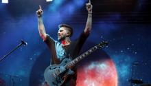 """Colombian singer Juanes presents his most recent album """"My plans are amarte"""" in Medellín, Colombia, on May 9, 2017. EFE/FREDY AMARILES"""