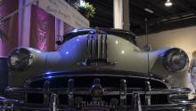 One of the cars shown at the CubaNostalgia fair, in Miami, United States. EFE/CubaNostalgia/Justinmar Perez