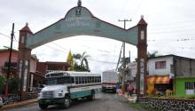 A view of of Tlaltetela, a small village in the Mexican state of Veracruz on June 17, 2017. EFE/Miguel Angel Cardona