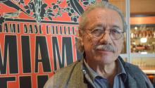 American actor Edward James Olmos, during an interview with EFE, in Miami, United States on Mar. 10, 2017. EFE/PABLO RAMON
