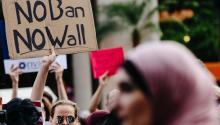 People participate in a rally to protest the separation of families under US President Donald J. Trump's travel ban in New York, New York, USA, 29 June 2017. EPA/ALBA VIGARAY