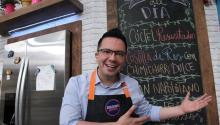 Mexican chef Jose Ramon Castillo at his restaurant in Mexico City. EFE/Mario Guzman