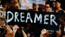 "Police arrested about a dozen ""DREAMers"" and civil rights activists in New York on Tuesday during a protest that paralyzed Fifth Avenue in front of Trump Tower, after the administration""s announcement that it is eliminating the DACA program that has protected hundreds of thousands of young undocumented immigrants from deportation and has allowed them to work and drive legally. EFE"
