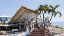 A destroyed home after Hurricane Irma struck the Florida Keys in Marathon, Florida, USA, Sept. 12, 2017. EPA-EFE/ERIK S. LESSER