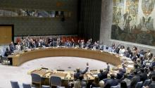 The United Nations Security Council holds vote on sanctions resolution against North Korea at United Nations headquarters in New York, New York, USA, 11 September 2017. EPA-EFE FILE/ANDREW GOMBERT