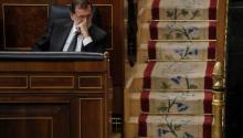 El primer ministro español Mariano Rajoy en el Congreso de los diputados de Madrid el pasado 18 de octubre, 2017.EFE-EPA FILE/ Juan Carlos Hidalgo