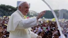 El Papa dio una misa multitudinaria en Myanmar el pasado 29 de noviembre de 2017. Foto: EPA-EFE/NYEIN CHAN NAING